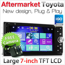 Toyota Kluger Tarago Rukus Echo Estima Car DVD GPS Player Stereo Radio Head Unit