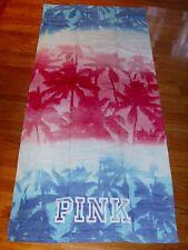 "Victoria's Secret PINK Swim Beach Towel 100% Cotton NWT Multi 28"" x 58"""
