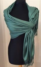 Hunter Green Super Soft Cashmere Wrap/Scarf
