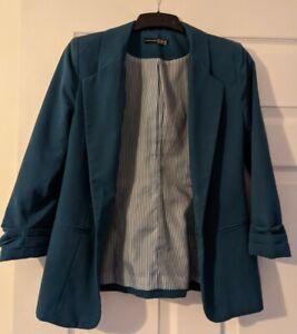 Atmosphere Blue Blazer Size 8