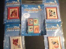 The Art of Disney Friendship Magnet set Issued by USPS