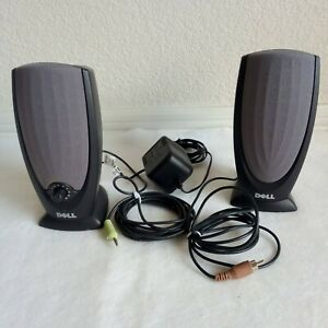 Dell A215 Multimedia Speaker Desktop Computer Stereo Speakers OW2739 & Power Cab