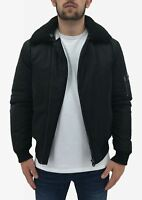 Mens Aviator Jacket Born Rich By Money Clothing Idocrase Winter Bomber Coat