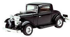 MOTORMAX 73251 1932 32 FORD COUPE 1/24 DIECAST BLACK