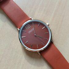 Montre Ernest bracelet couleur rouille