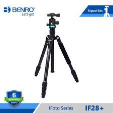 Benro iFoto iF28+ Tripod Aluminium Portable Reflexed Tripods Monopod For Camera