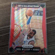 2015-16 Panini Prizm RUBY WAVE PRIZMS #361 Paul Millsap ALL-STAR #/350