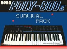*** KORG POLY-800 II Survival Pack - NEW STUDIO PATCHES + FACTORY SOUNDS