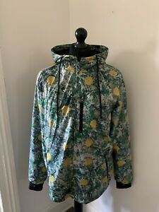 Stone Roses Official Licensed Windbreaker Lemon Jacket Coat size XL