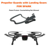 Propellers Guards+Extend Landing Legs Gear Protection for DJI SPARK Drone RC