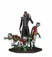 DC Comics Metal Batman Who Laughs and Robin Minions Deluxe Statue