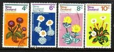 Flowers Used New Zealand Stamps