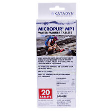 Katadyn Micropur Purification Tablets package OF 20