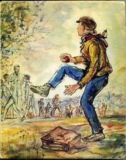 L'homme en proie aux enfants  -  Albert Thierry / Illustrations Paulette Humbert
