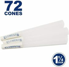 Elements 72 1 1/4 Rice Cones - Natural Unbleached Unrefined Rolling Papers