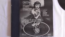 Mary Martin 78rpm Set  Decca #123  Mary Martin in an album of Cole Porter Songs
