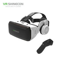 "SHINECON 3D VR Glasses Virtual Reality Headset with Earphone for 4.0""-6.0"" Phone"