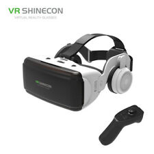 """SHINECON 3D VR Glasses Virtual Reality Headset with Earphone for 4.0""""-6.0"""" Phone"""