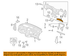 HONDA OEM 03-11 Element Instrument-Panel Reinforcement Frame 77550SCVA01ZZ