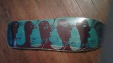 G&S Neil Blender FACES Skateboard Deck Gordon & Smith Reissue New in Shrink blue