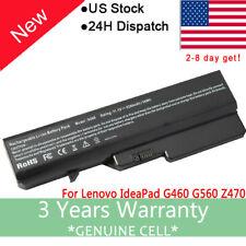 Battery For Lenovo IdeaPad G460G G465A G470 G560 G565 G570 G770E B470 B570 Z560