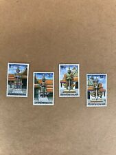 Stamp giant Thailand Believe Bangkok Architectures Ancient Collection