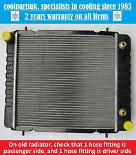 BRAND NEW RADIATOR LAND ROVER DEFENDER / DISCOVERY 1989 TO 1994 200 TDI DIESEL
