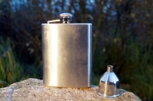 Beautiful Flachmann With Hopper Water Bottle Stainless Steel Collectors Item