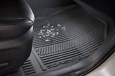 Genuine Kia UM Sorento 2018-Current Floor Mat Set- Rubber (2 rows)