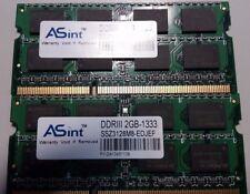 ASint DDRIII 4 GB 2X2GB-1333 RAM