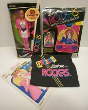 Barbie And The Rockers Lot No. 1140 T-shirt Sticker Book Smock 1980s Mattel