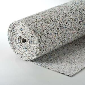 Future Foam Flooring Contractor Indoor Soft Carpet Padding Cushion 3/8 in. Thick