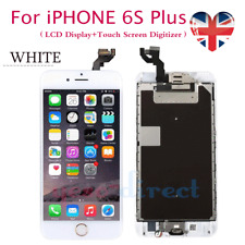 White For iPhone 6S Plus LCD 3D Touch Screen Replacement Camera+Gold Home Button