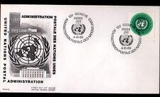 "ENVELOPPE Timbrée ""NATIONS UNIES"" Oblitération Flamme postale GENEVE 4.10.1969"