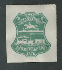 UNITED STATES  # U219 Mint GREEN DIE 1, CENTENNIAL ISSUE 1876
