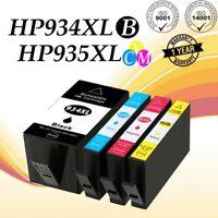 4x 934 XL 935 XL Ink Cartridge For HP Officejet 6812 6830 6815 6835 6230 Printer