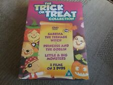 The Trick or Treat Collection (DVD, 2012, 3-Disc Set, Box-Set) new freepost