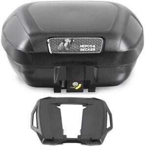 Motorrad Topcase Koffer TC54 Orbit 54 liter Hepco Becker mit Adapterplatte NEU