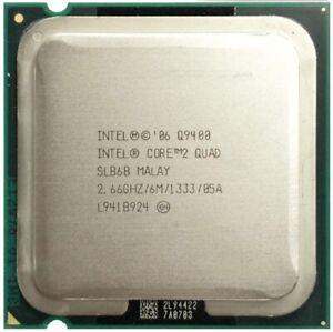 Intel Core 2 Quad Q9400 2,6 GHz Quad-Core Quad-Hilo de procesador de CPU 6M 95W