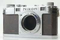 [RARE EXC+++++] Nikon S 35mm Film Rangefinder Camera Body Only From japan