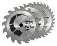 TCT Circular Saw Blade wood 150mm x 20mm Bore Bosch Makita Dewalt x3 by TOOLPAK