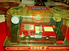 Code 3 City Los Angeles Seagrave Engine 57 Fireman's Relief Association 12307