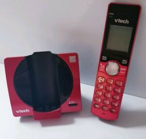 Vtech CS6919 Cordless Phone Handset CS6919-16 Red Replacement and Base