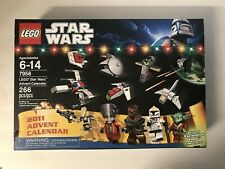 NEW Lego 7958 Star Wars Advent Calendar 2011 edition Factory Sealed 9 figures