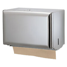San Jamar Singlefold Paper Towel Dispenser Chrome 10 3/4 x 6 x 7 1/2 T1800XC
