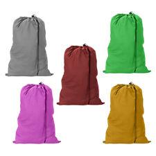 "6 Heavy Duty Jumbo Sized Laundry Bag Nylon 29""x 40"" College Home Dorm Gym Camp"