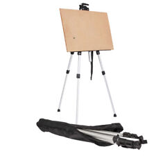 US Art Supply Portable Folding Aluminum Tripod Easel Stand Floor Artist Painting