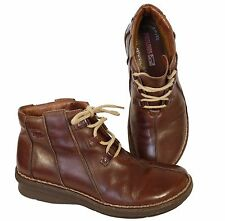 Pikolinos Shoes 38 uk-5  Leather Lace Up Ankle Boots