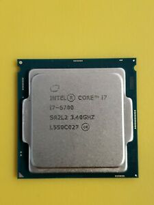 Intel Desktop CPU i7-6700 3.4GHz Quad-Core LGA1151 8MB SR2L2