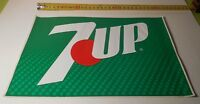 ADESIVO VINTAGE STICKER  AUTOCOLLANT 7UP SEVENUP ORIGINALE ANNI '80 BELLO E RARO